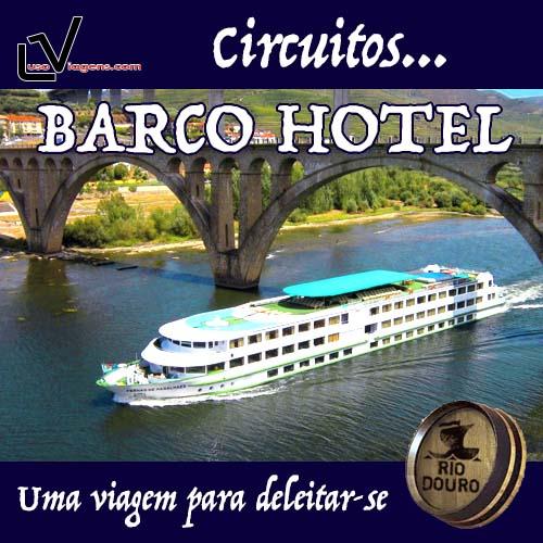 Cruzeiros com Estadia  em BARCO HOTEL