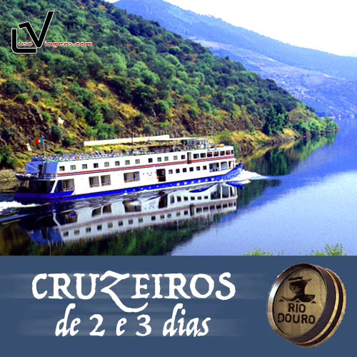 Cruzeiros de 2 e 3 dias pelo Douro