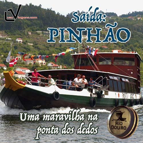 Cruzeiros no Rio Douro com inicio no Pinhão