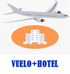 VUELO + HOTEL