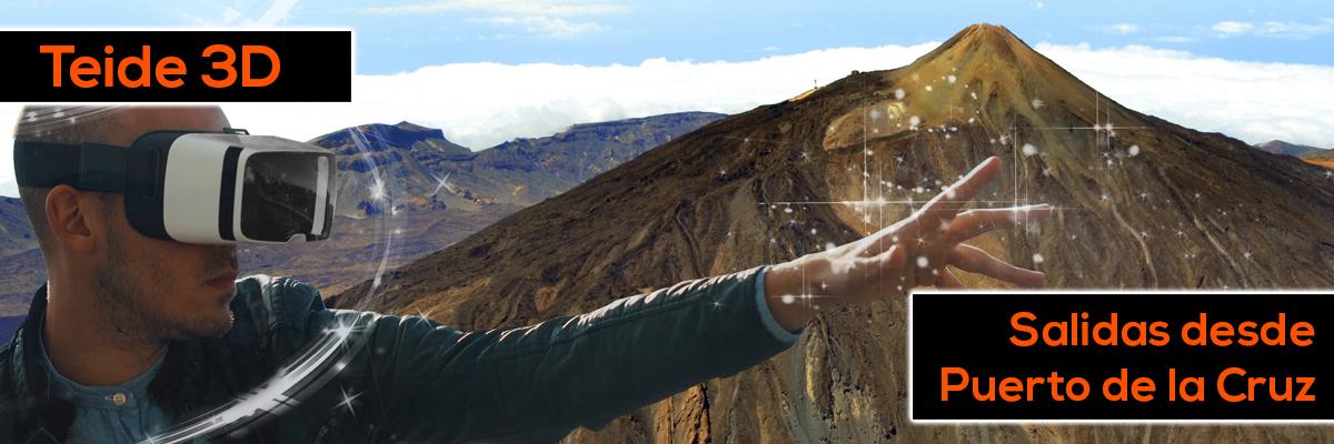 Teide 3D Puerto de la Cruz