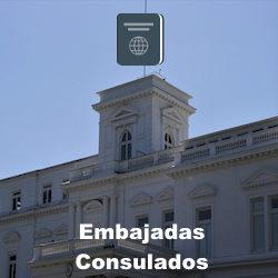 Embajadas y/o Consulados