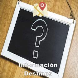 Información Destinos