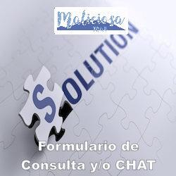 Formulario de Consulta y/o CHAT