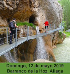 Barranco la Hoz y Molino la Tosca en Aliaga