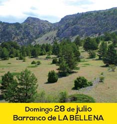 Barranco de La Bellena en Javalambre