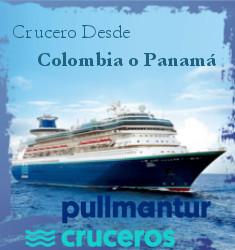 DESDE COLOMBIA O PANAMA CON PULLMANTUR