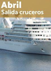 Las mejores ofertas de cruceros para salidas en Abril