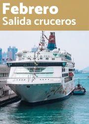 Las mejores ofertas de cruceros para salidas en Febrero
