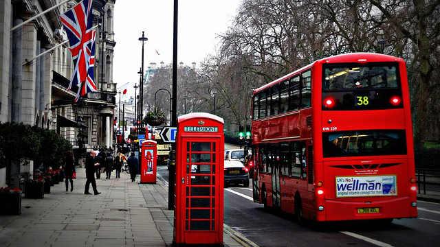 Londres desde Asturias. Vuelo directo